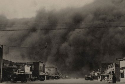 O cinema de Boise City e as Tempestades de Poeira
